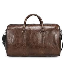 Pu leather Ladies <b>Travel Bag</b> Glossy Solid Color Large Capacity ...