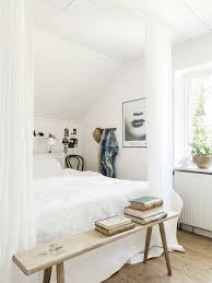 pictures simple bedroom: white bedroom w out much color soothing and relaxing like the skinny natural wood bench at foot of bed
