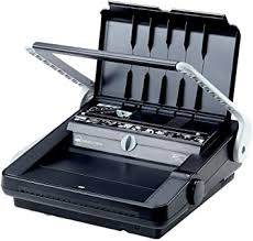 <b>GBC</b> A4 2101440 <b>WireBind W18</b> Binding Machine, 18 Sheet Punch ...