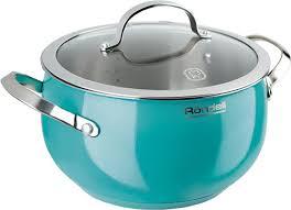 Купить <b>кастрюля Rondell</b> Turquoise <b>RDS</b>-<b>719</b>, 5.8 л - цена ...