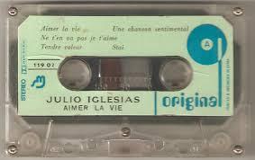 Julio Iglesias - <b>Aimer La Vie</b> (1978, Cassette) | Discogs
