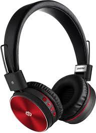 Беспроводные <b>наушники</b> с микрофоном <b>Digma BT</b>-<b>12 Red</b>/<b>Black</b> ...