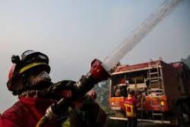 Incêndio em armazém na localidade de Souselo, Cinfães