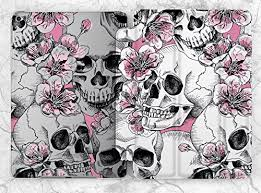 Vintage Pink Floral Skull Case For Apple iPad Mini 1 ... - Amazon.com