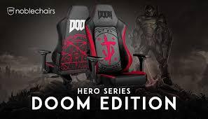 <b>Noblechairs</b> объявила о выпуске <b>игрового кресла</b> HERO Gaming ...