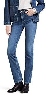 High Waisted Straight Leg Jeans - Amazon.com
