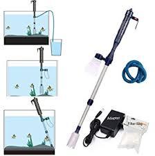 LONDAFISH Electric <b>Fish Tank</b> Vacuum Cleaner <b>Battery Syphon</b> ...