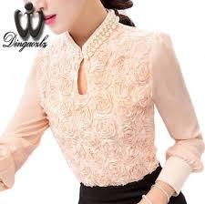 Online Shop Dingaozlz New Plus size <b>Women Chiffon blouse</b> Sexy ...