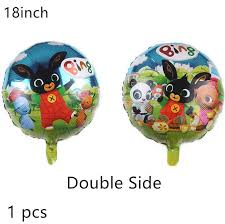 1pcs animal foil balloons <b>Bing Bunny</b> Panda swan flamingo brown ...