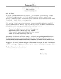best personal services cover letter examples livecareer edit