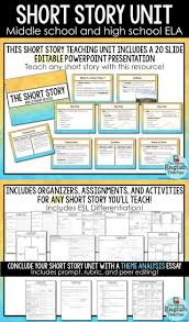 top ideas about short stories for high school students on short stories a common core mini unit for any short story