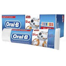 <b>Зубная паста Oral-B</b> Junior д/детей нежная мята без сахра 6+ лет ...