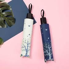 Sun <b>umbrella women's black</b> coating <b>sunscreen</b> UV folding <b>umbrella</b> ...