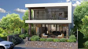 Narrow Lot Home Builders Perth   Block Builders PerthNarrow Block House Designs Perth