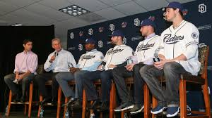padres unveil justin upton wil myers derek norris and will padres unveil justin upton wil myers derek norris and will middlebrooks mlb com