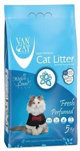 Комкующийся <b>наполнитель Van Cat Fresh</b> 5 кг — купить по ...