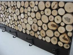 chic modern rustic interior rustic wood coat towel rack by modern rustic art at custommadecom