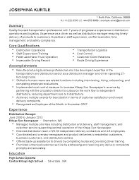 professional transportation professional templates to showcase resume templates transportation professional