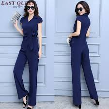 <b>New Arrival womens</b> business suits solid color two piece set top and ...