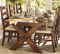 pottery barn style dining table: pottery barn dining room table decor
