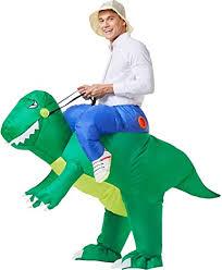 YEAHBEER Inflatable Dinosaur Costume T-Rex ... - Amazon.com