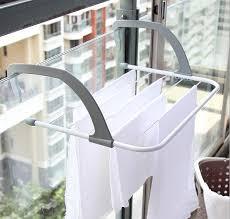 <b>Balcony Laundry Window Drying</b> Racks Plastic Washing Clothes ...