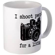 IShoot 11 oz Ceramic Mug <b>I Shoot People</b> Mug by NodBackwards ...