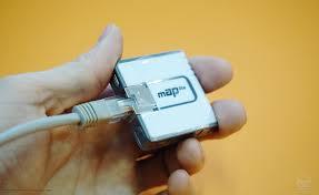 <b>Сетевой кабель</b> в Mikrotik mAP lite | фотография от ЗАО Вива ...