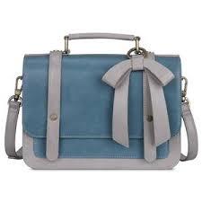 ECOSUSI Women's Vintage <b>Small PU Leather</b> Briefcase ...