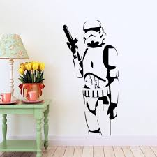 Cool stormtrooper <b>star wars</b> vinyl <b>wall sticker</b> Mural art decal games ...