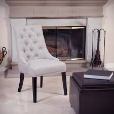 Tufted Leather Dining Room Chairs White Leather Dining Room Chairs For Something Spesial