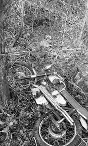 <b>Motorcycle</b> And <b>Skeleton</b> Discovered In Woods, October 1968 | Ann ...