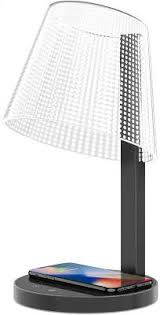 <b>Настольная лампа</b> c БЗУ <b>HomeTree</b> Kong Wireless Lamp Black ...