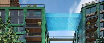 hal architects set a glass bottomed sky pool in london porch decor ideas art deco office tower piet
