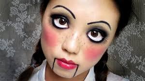 easy makeup creepy cute doll 中文字幕
