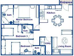 House plans  Bedrooms and Luxury cruises on Pinterest sq ft house plans bedroom   Google Search