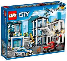 Купить <b>Конструктор LEGO City</b> 60141 <b>Полицейский</b> участок в ...