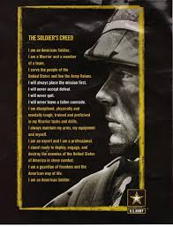 dod army the iers creed the foundation of the warrior dod army the iers creed the foundation of the warrior ethos