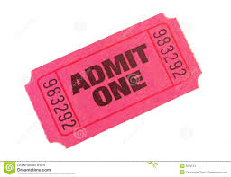 pink admit one ticket clipart clipartfest admit one ticket isolated on