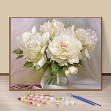 Лучшая цена на <b>Пионы</b> живопись масляными красками на сайте ...