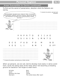 printable worksheets for personal hygiene personal hygiene personal hygiene worksheets for kids level 3 2