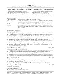 it support administrator resume   sales   support   lewesmrsample resume  it support specialist resume