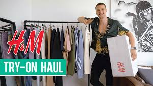 NEW H&M Try-On Haul 2020 + 7 Outfits | <b>Men's Casual Fashion</b> ...