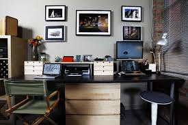 home office trend decoration business decorating ideas the black working desk with white pedestal base combined awesome office desk simple