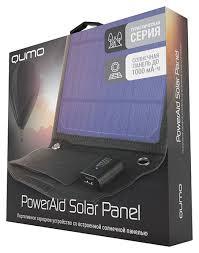 Портативное <b>зарядное устройство Qumo Solar</b> Panel