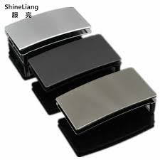 Shineliang Pin Smooth Belt buckle for <b>men</b> High quality alloy <b>Metal</b> ...