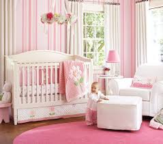 bedroom ideas decorating khabarsnet: nice pink bedding for pretty baby girl nursery from prottery barn