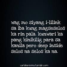 Tagalog Sad Love Quotes For Him. QuotesGram via Relatably.com