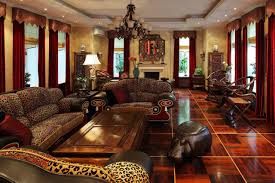 south african decor:  decor ideas rustic african style living room ideas