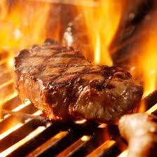 Image result for image sizzling steak on grill